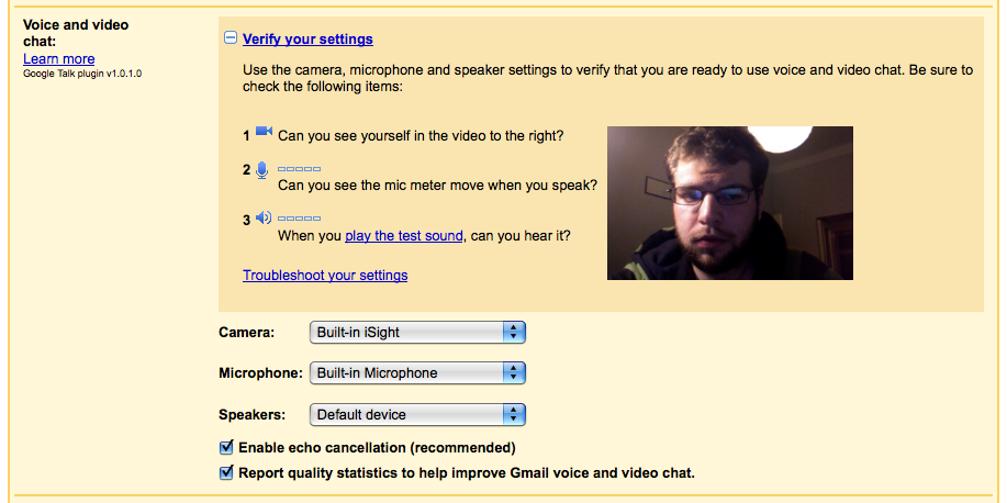 Say hello to Gmail voice and video chat - Google Blogoscoped Forum